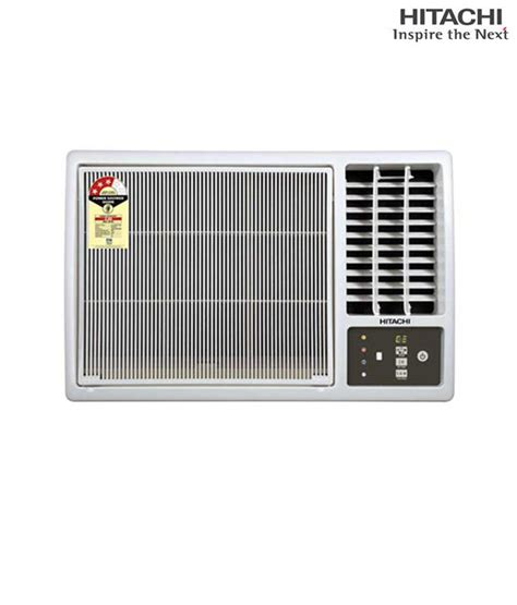 hitachi ac hitachi window ac 1 5t kaze 318ksdp price in india buy