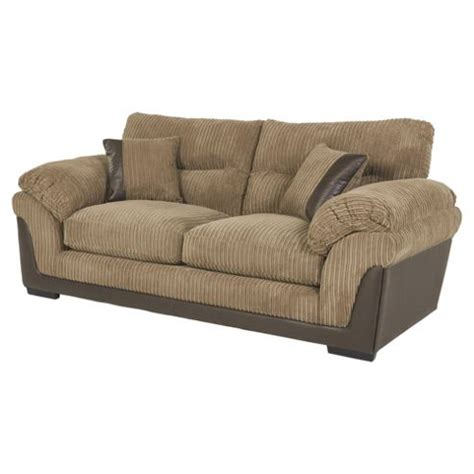 jumbo cord sofas buy kendal jumbo cord large 3 seater sofa taupe from our