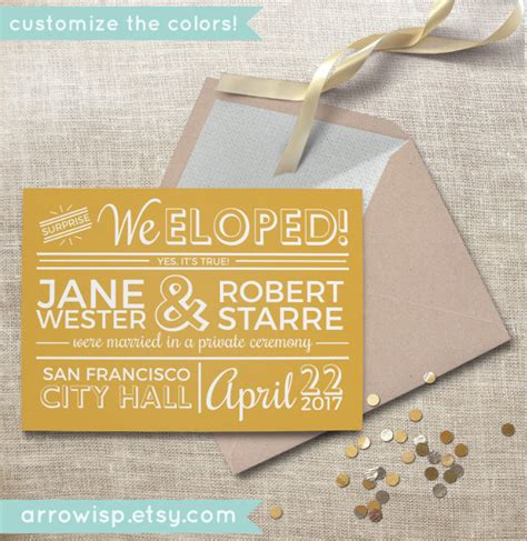 21 wedding announcement templates free sle exle
