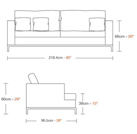 Couch Seat Height | standard sofa seat height images typical seat height