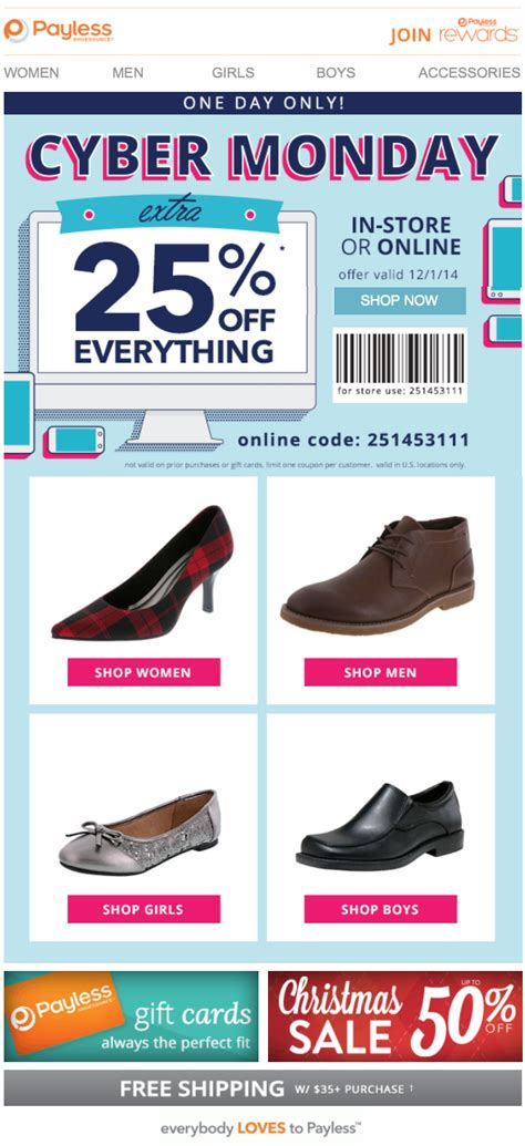 shoes cyber monday payless shoes cyber monday 2015 sale deals coupons