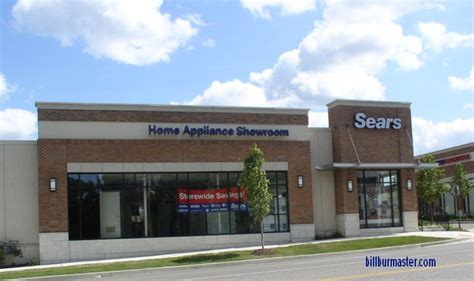 sears home appliance showroom