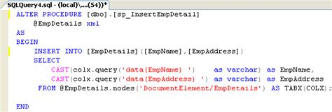 sql parameterized query tutorial ado net datatable as xml parameter to an oracle sql server