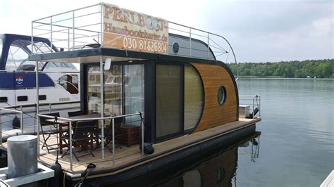 nautilus hausboot design houseboat anchored as a home fixed