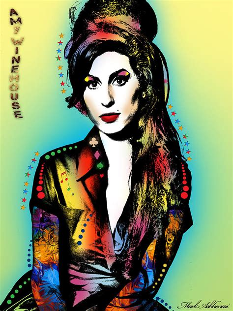 House Plans Online amy winehouse painting by mark ashkenazi
