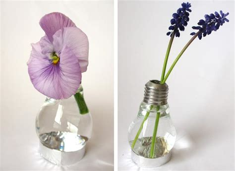 Hanging Light Bulb Vase by Craft Archives Magical Daydream