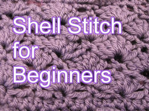 knitting for left handed beginners crochet shell stitch for beginners if you enjoyed this