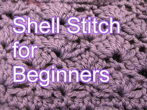 crochet shell stitch slow motion crochet youtube