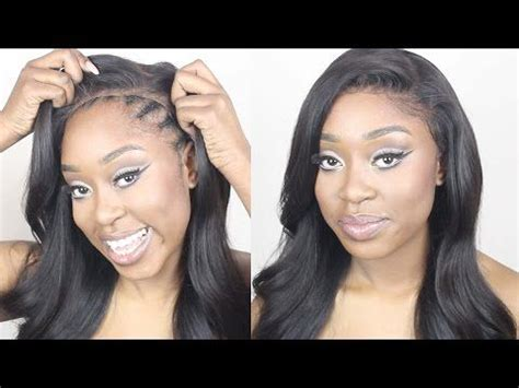 gule in hair style for black beginners how to make a lace frontal wig tutorial no hair out no