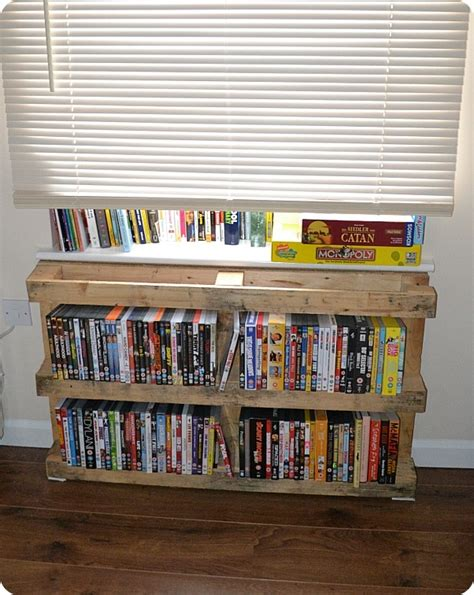 Dvd Shelf Rack by Pallet Dvd Shelf Products I Shelves