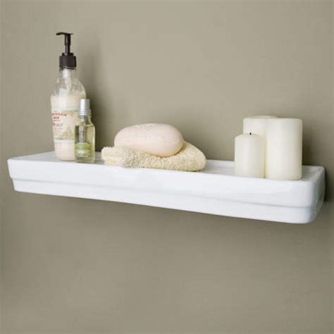 brogan porcelain shelf bathroom shelves bathroom
