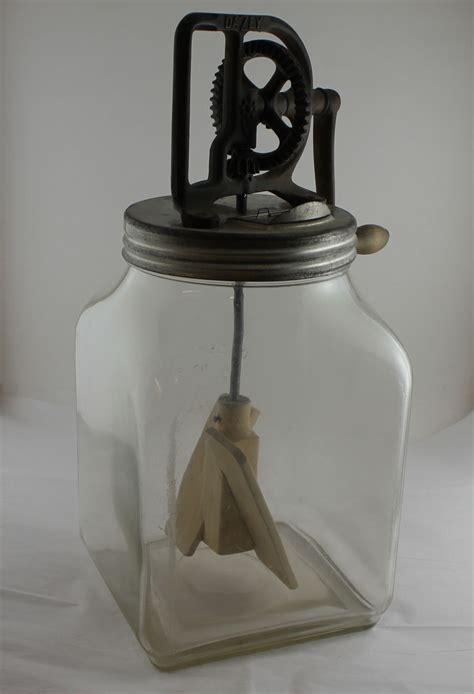 Bargain John's Antiques   Antique Dazey Glass Butter Churn