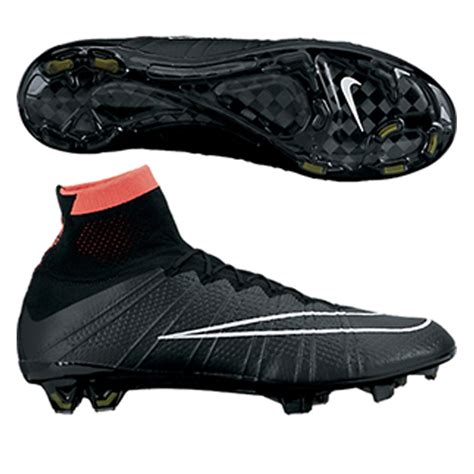 nike mercurial superfly iv soccer cleats black hyper