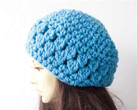 crochet pattern chunky yarn hat chunky slouch hat by black iris crocheting pattern