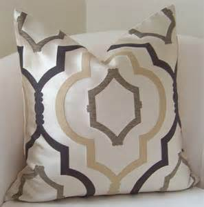 brown pillow cover neutral pillow throw pillow trellis pillow