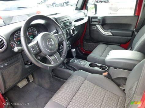 Rubicon Interior by 2012 Jeep Wrangler Unlimited Rubicon 4x4 Interior Color