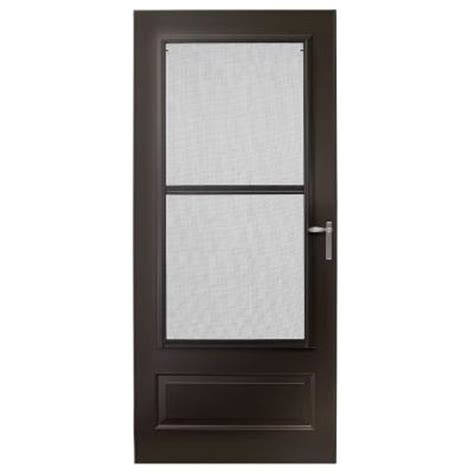 Emco 3000 Series Door by Emco 36 In X 80 In 300 Series Bronze Track