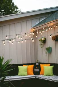 Side Porches party alcove party lights tips a beautiful mess