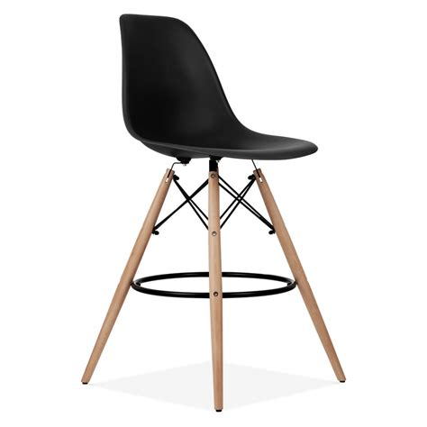 eames style bar stool yellow charles eames black dsw stool kitchen bar stools cult uk