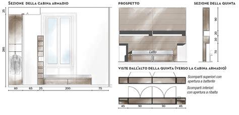 larghezza cabina armadio 110 mq con una parete in vetro per dividere soggiorno e