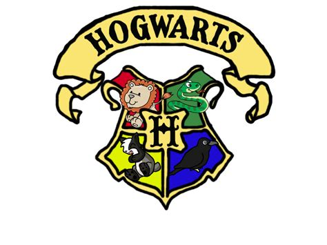 Cute Houses by Cute Hogwarts Houses Crest By Mattieboosh On Deviantart