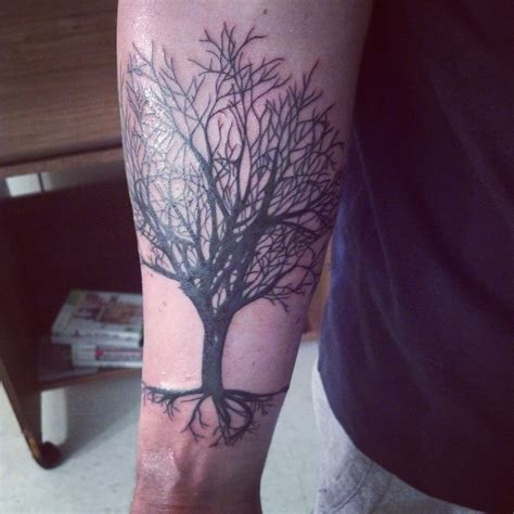 treeline tattoo forearm tree line www imgkid the image kid