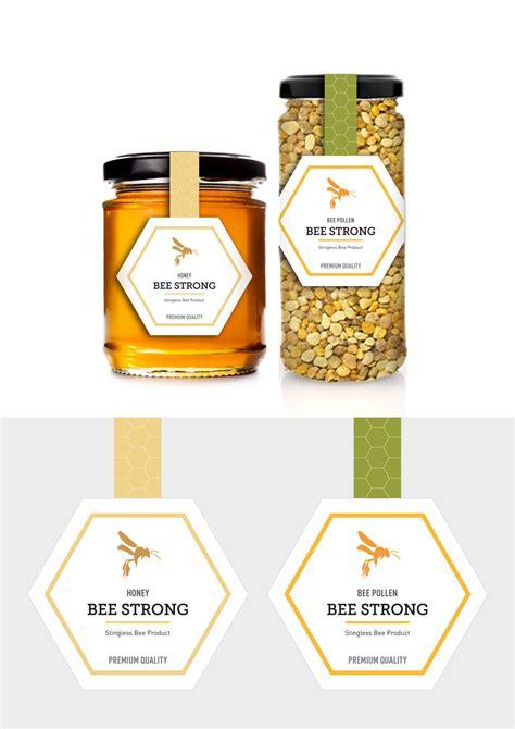design untuk label sribu label design desain label untuk produk lebah madu