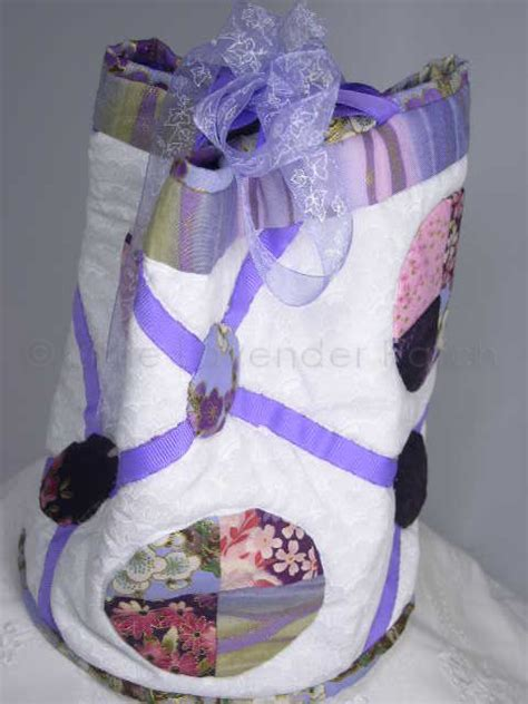 Patchwork Bag Kits - small japanese patchwork bag kit the lavender patch