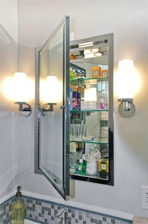 inset bathroom mirror 1000 ideas about medicine cabinet mirror on pinterest