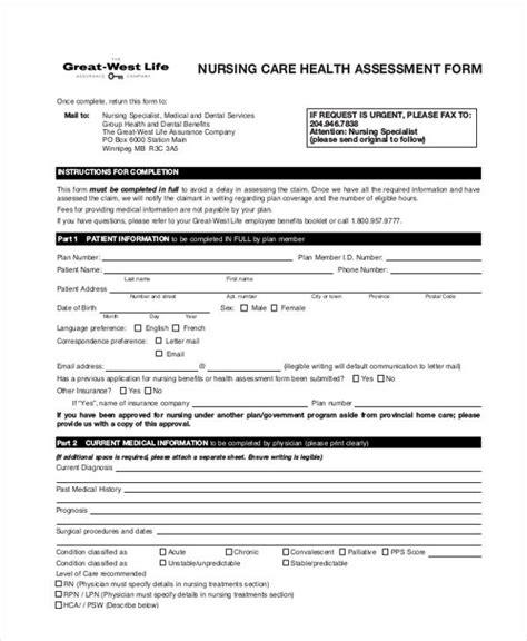 sle nursing assessment form home care assessment form 45 sle health assessment form