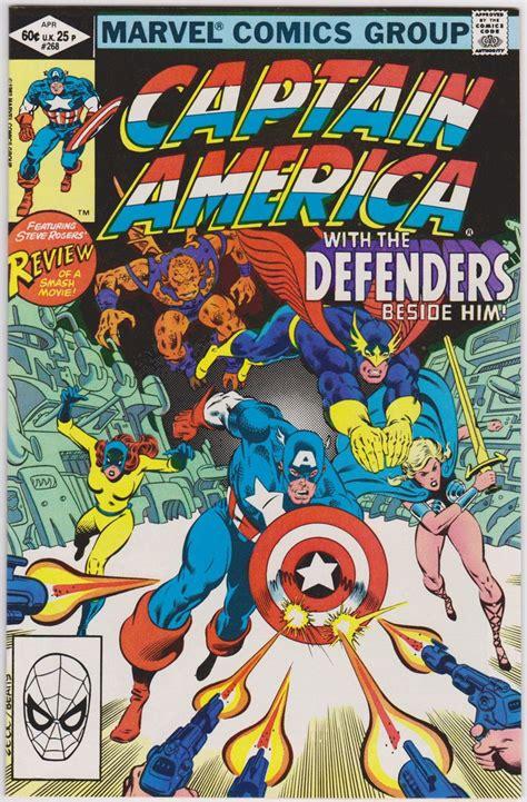 X Utopia Tp Marvel Comics captain america 268 marvel comics vf 8 5 버터감성