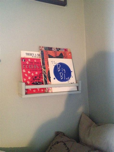 spice rack as nursery book shelf bebe