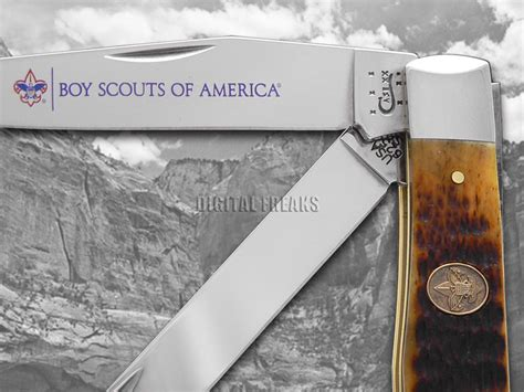 boy scouts of america knife xx boy scouts of america antique bone trapper stainless pocket knives knife