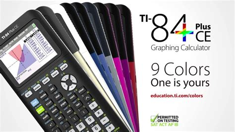 ti 84 color ti 84 plus ce graphing calculator available in 9