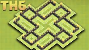 Clash of clans new town hall 6 th6 farming base 2016 protect