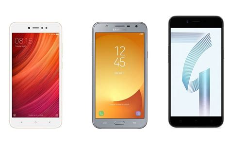 Samsung A71 nokia 4 vs redmi y1 vs samsung galaxy j7 vs oppo a71