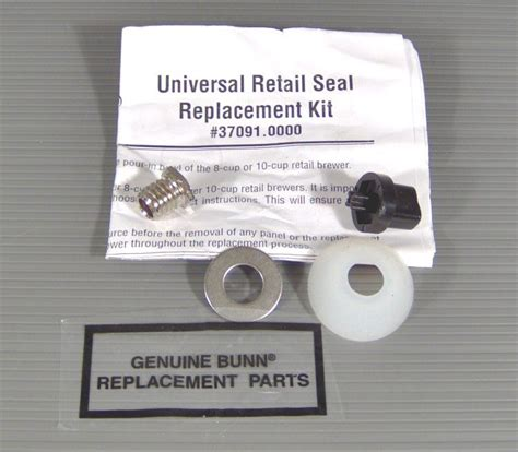 NEW BUNN O MATIC 37091.0000 UNIVERSAL REPLACEMENT COFFEE MAKER SEAL RETAIL KIT   eBay