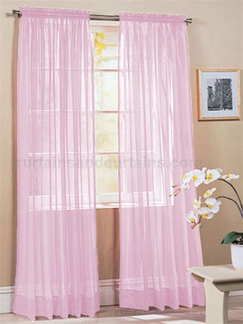 Pink Sheer Curtains Light Pink Sheer Curtains Modern Light Pink Solid Pattern Cotton Sheer Curtains Light Pink Sheer