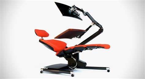 Reclined Workstation by Altwork Reclining Desk Workstation Gearnova