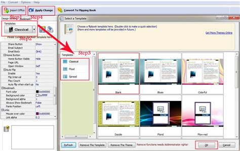 How To Change Different Templates For My Flip Book Flipbuilder Com How To Edit Word Template