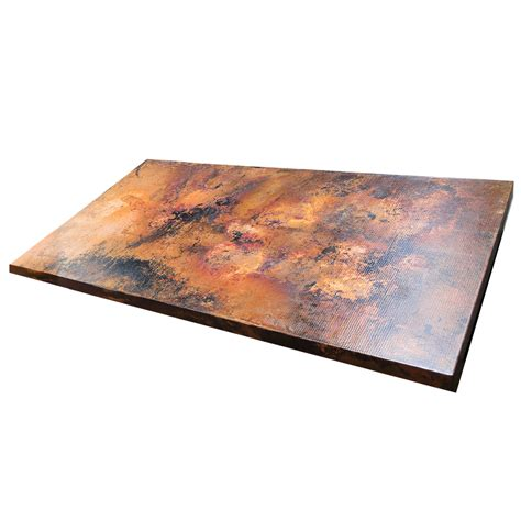 ariellina copper table rectangular table tops