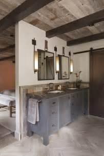 Modern Rustic Bathroom Design Tahoe Modern Rustic Bathroom San Francisco By