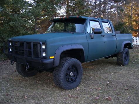 73 87 chevy truck bed for sale chevy crew cab short bed 4x4 spray on bedliner 355 efi
