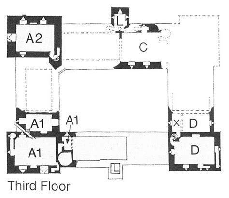 hever castle floor plan bolton castle