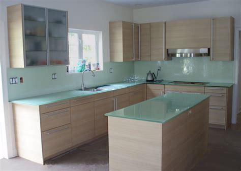 Painted Glass Countertops backpainted glass countertops custom