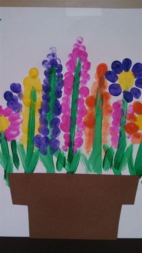 flowers for my garden 17 best ideas about fingerprints on cards