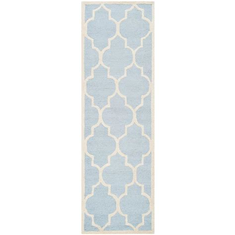 Karolus Area Rug by Home Decorators Collection Karolus Blue 2 Ft 6 In X 10