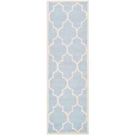 Karolus Area Rug Home Decorators Collection Karolus Blue 2 Ft 6 In X 10 Ft Runner 3242280230 The Home Depot