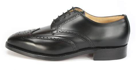 Handmade Mens Shoes Uk - charles horrel handmade in welted wingtip mens
