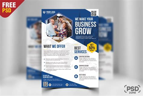 Free Business Flyer Template Psd Download Download Psd Flyer Templates Free Psd